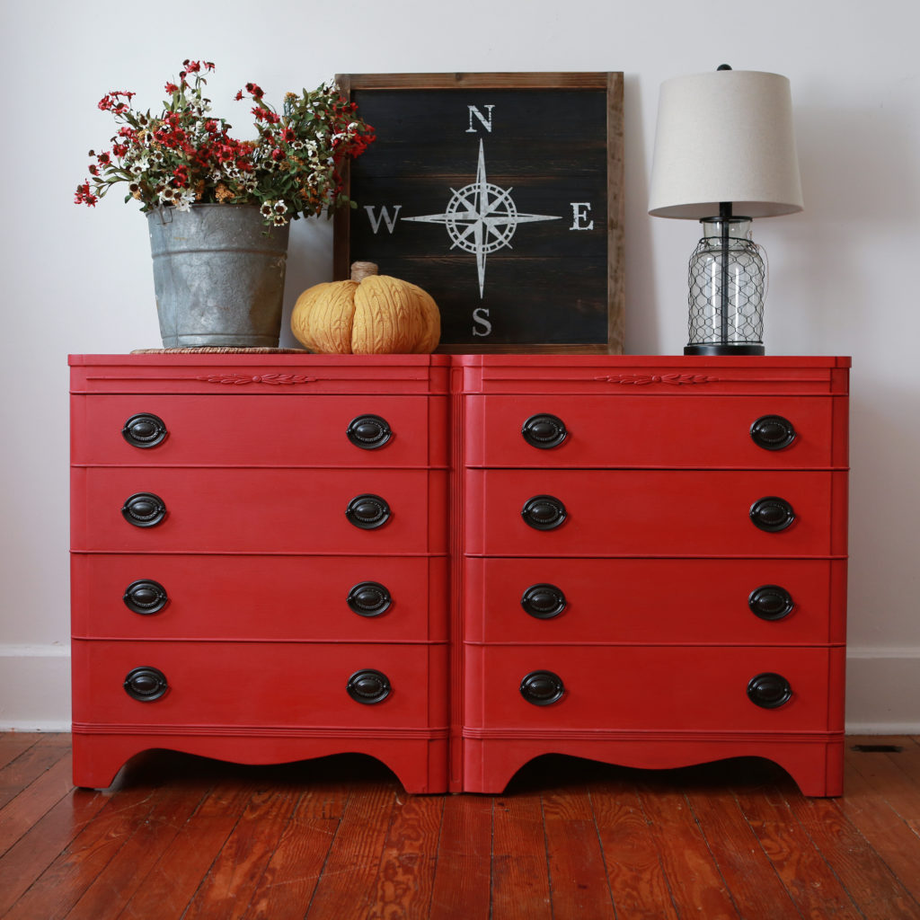 Painted Furniture Emperor S Silk Red Dresser The White House